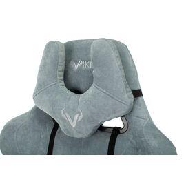 Игровое кресло Бюрократ Zombie VIKING KNIGHT Fabric Grey-Blue (1372998) фото, изображение 10