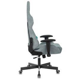 Игровое кресло Бюрократ Zombie VIKING KNIGHT Fabric Grey-Blue (1372998) фото, изображение 15