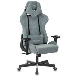 Игровое кресло Бюрократ Zombie VIKING KNIGHT Fabric Grey-Blue (1372998) фото, изображение 2