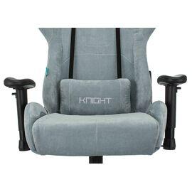 Игровое кресло Бюрократ Zombie VIKING KNIGHT Fabric Grey-Blue (1372998) фото, изображение 6