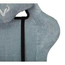 Игровое кресло Бюрократ Zombie VIKING KNIGHT Fabric Grey-Blue (1372998) фото, изображение 8