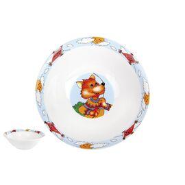 Набор посуды детский Коралл Веселые зверята TSET3K фото, изображение 4