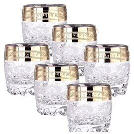 Набор стаканов для виски 6 шт. Гусь-Хрустальный Барокко EAV63-808 фото