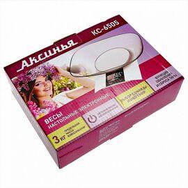 Весы кухонные Аксинья КС-6505 фото, изображение 2