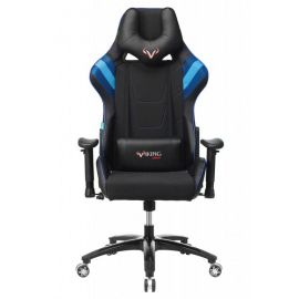 Игровое кресло Бюрократ VIKING 4 AERO BLUE, Вариант цвета: black/blue фото