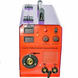 Инверторный полуавтоматический сварочный аппарат WBR IHS-281 фото, изображение 3