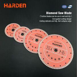 Диск алмазный турбоволна 125 х 22.2 HARDEN 611322