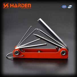 Ключ шестигранный 7 в 1 HARDEN 540610, изобржение 2