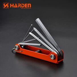 Ключ шестигранный 7 в 1 HARDEN 540610