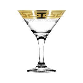 Набор бокалов для мартини 6 пр. Гусь-Хрустальный Греческий узор EAV03-410 фото