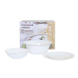 Сервиз столовый Royal Opal H06216 - 19 предметов