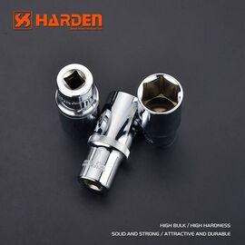 """Шестигранная высокая головка 1/2"""" 10 мм HARDEN 530531, изображение 2"""