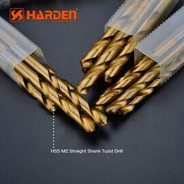 Сверло по металлу 9.5мм HSS M2 1шт. HARDEN 610262, изображение 2