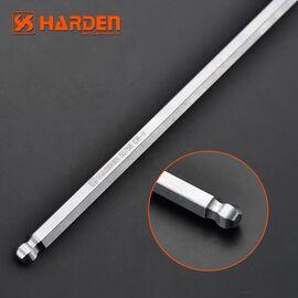Профессиональный T-образный шестигранный ключ с плавающей головкой 10х200мм HARDEN 540708, изображение 3
