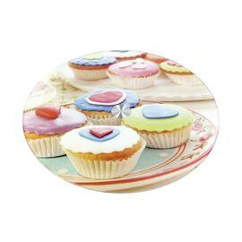 Вращающаяся подставка для торта и десертов (тортовница) Кексы Коралл 3201-1