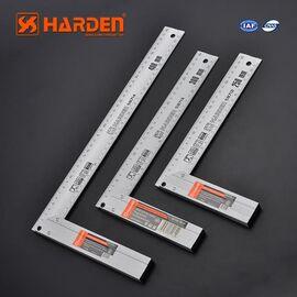 Угольник столярный алюминиевый 250мм HARDEN 580712