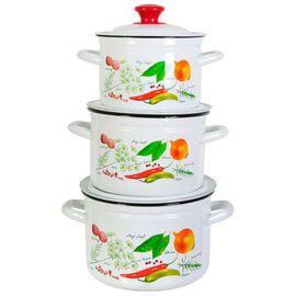 Набор посуды эмалированной 6 предметов КМЗ Специи-1