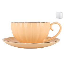 Пара чайная Коралл Миндальный крем ZL09782-1 фото, изображение 2