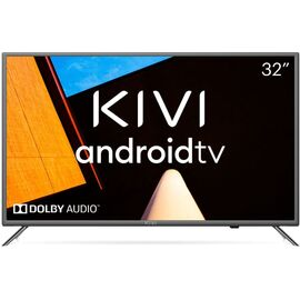 Телевизор Smart 32 дюйма KIVI 32F710KB, Google ATV, черный