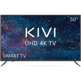 4K UHD Телевизор Smart 50 дюймов KIVI 50U600KD, черный