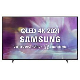 4К QLED Телевизор SMART 43 дюйма Samsung QE43Q60AAU 2021 год