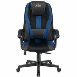 Игровое кресло Бюрократ Zombie 9 Black + Blue фото