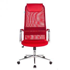 Офисное кресло руководителя Бюрократ KB-9N/R/TW-97N красный (1140274) фото