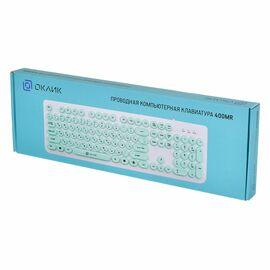 Клавиатура Oklick 400MR Мятный фото, изображение 4