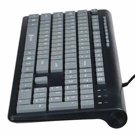 Клавиатура Oklick 480M Черная с Серым фото, изображение 2