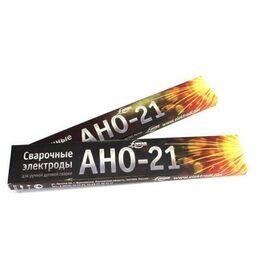 Электроды сварочные АНО-21 d4,0мм 1кг(рутил зеленый) фото