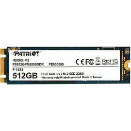 Накопитель SSD Patriot PCI-E 512 ГБ фото