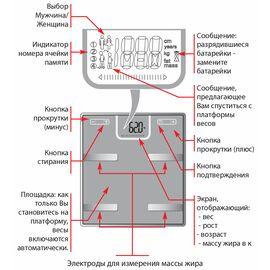 Весы напольные Tefal BM6010V0 фото, изображение 5
