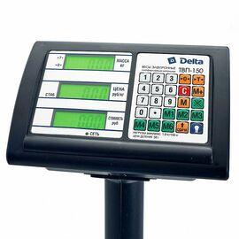 Весы торговые DELTA до 150кг/5г ТВП-150 фото, изображение 2