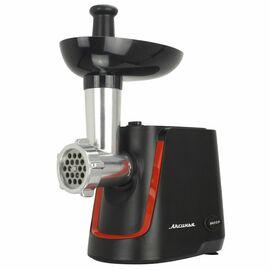 Мясорубка Аксинья КС-2000 черная с красным фото