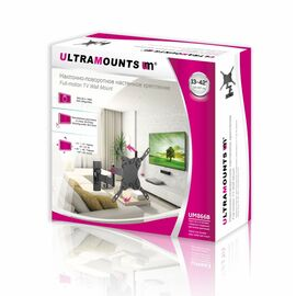 Кронштейн Ultramounts UM866В диагональ: 13-42 фото, изображение 2
