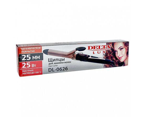Щипцы для волос (плойка) DELTA LUX DL-0626, изображение 3