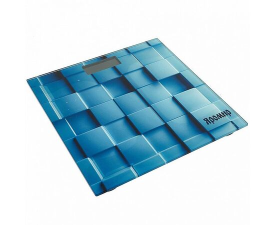 Весы напольные электронные Яромир ЯР-4200 Геометрия фото