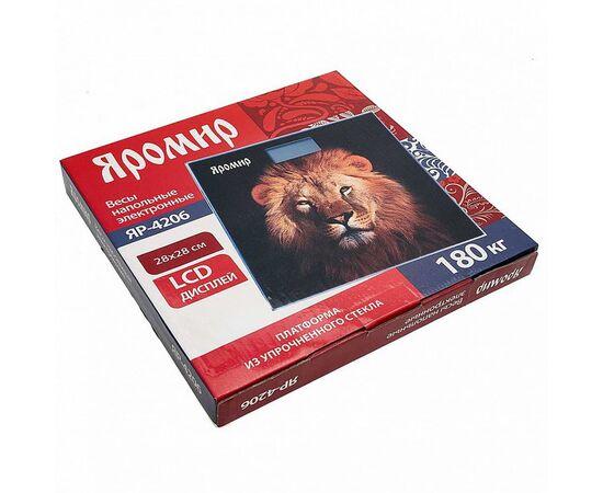 Весы напольные электронные Яромир ЯР-4206 Лев фото, изображение 2