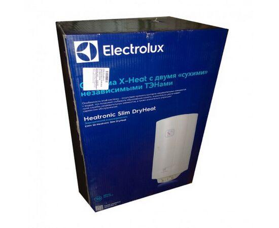 Электроводонагреватель (бойлер) 80 литров с сухим ТЭНом Electrolux Heatronic EWH 80 Slim DryHeat фото, изображение 2