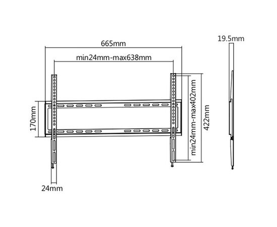 Кронштейн Ultramounts UM814F фото, изображение 2