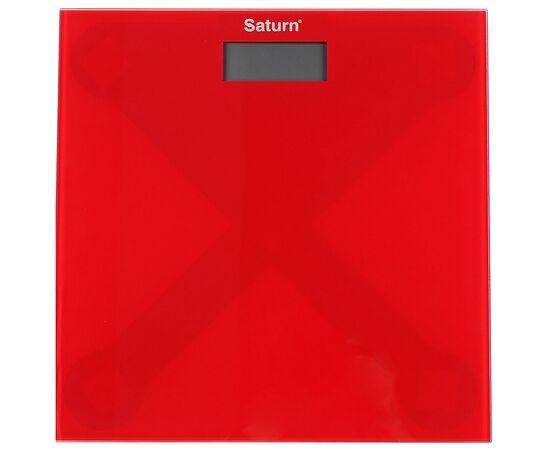 Весы напольные Saturn PS0294 красные фото