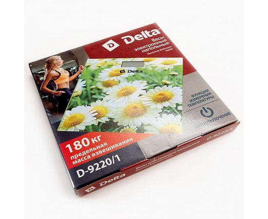Весы напольные электронные DELTA D-9220-1 Ромашковое поле фото, изображение 2