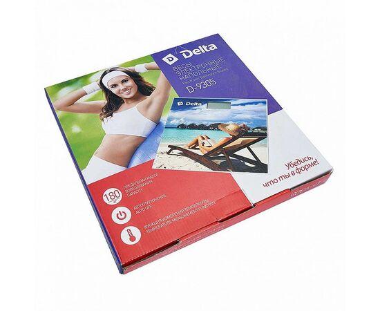 Весы напольные электронные DELTA D-9305 Мальдивы фото, изображение 2