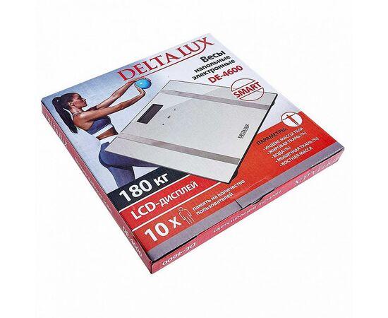 Весы напольные электронные DELTA LUX DE-4600 SMART фото, изображение 2