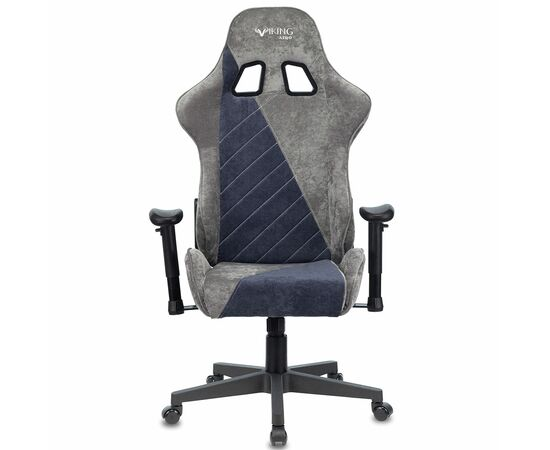 Игровое кресло Бюрократ VIKING X Fabric Grey-Blue (1428214) фото, изображение 12