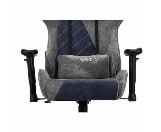 Игровое кресло Бюрократ VIKING X Fabric Grey-Blue (1428214) фото, изображение 6