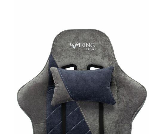 Игровое кресло Бюрократ VIKING X Fabric Grey-Blue (1428214) фото, изображение 7