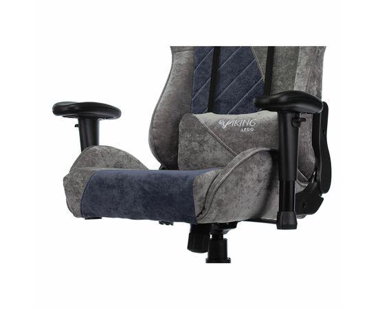 Игровое кресло Бюрократ VIKING X Fabric Grey-Blue (1428214) фото, изображение 8