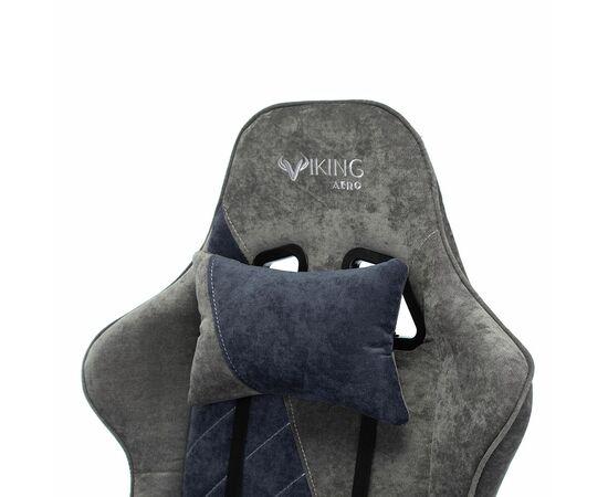 Игровое кресло Бюрократ VIKING X Fabric Grey-Blue (1428214) фото, изображение 9