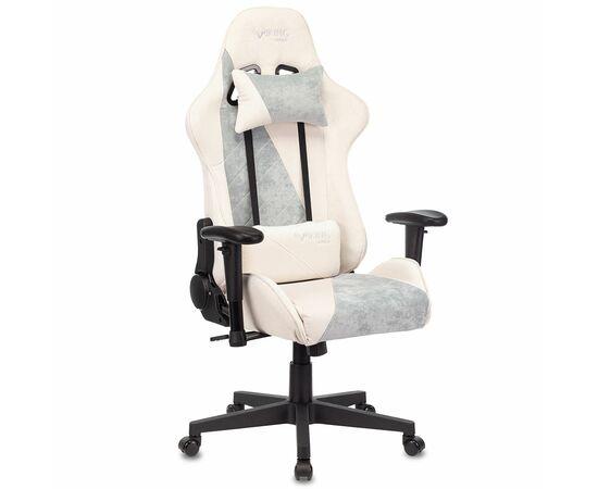 Игровое кресло Бюрократ VIKING X Fabric White-Blue (1428212) фото, изображение 2